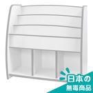 書櫃 收納【收納屋】小木偶多層收納櫃-白&DIY組合傢俱