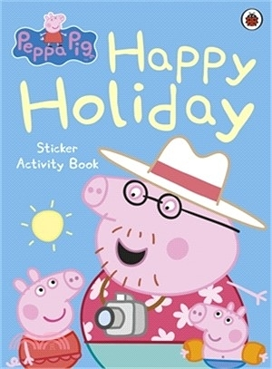 PEPPA PIG: HAPPY HOLIDAY STICKER ACTIVITY BOOK (貼紙書)(AFPF0790)