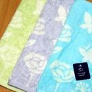 【衣襪酷】雙星 玫瑰花蝴蝶 純棉 印花小手巾(24*24cm)《小方巾/口水巾/手帕/童巾/Gemini/双星》