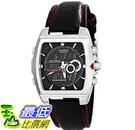 [美國直購] 手錶 Casio Mens EFA-120L-1A1VDF Edifice Stainless Steel Watch with Black Leather Band