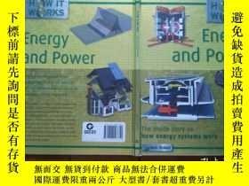 二手書博民逛書店Energy罕見and Power(The inside sto