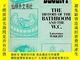 二手書博民逛書店【罕見】1984年出版 Clean and Decent. The History of the Bathroom