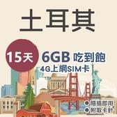 土耳其 瑞士 歐盟通用 15天 6GB吃到飽 4G訊號 免設定 免開卡 隨插即用 上網 上網卡 網路 網路卡