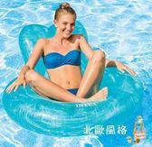 快速出貨-成人泳圈游泳圈成人坐圈座圈浮排躺椅水上充氣浮床救生圈游泳裝備