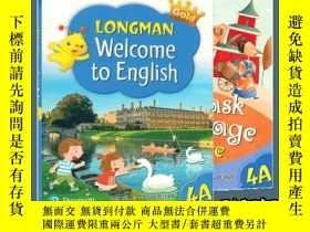 二手書博民逛書店朗文小學英語教材罕見Longman Welcome to Eng