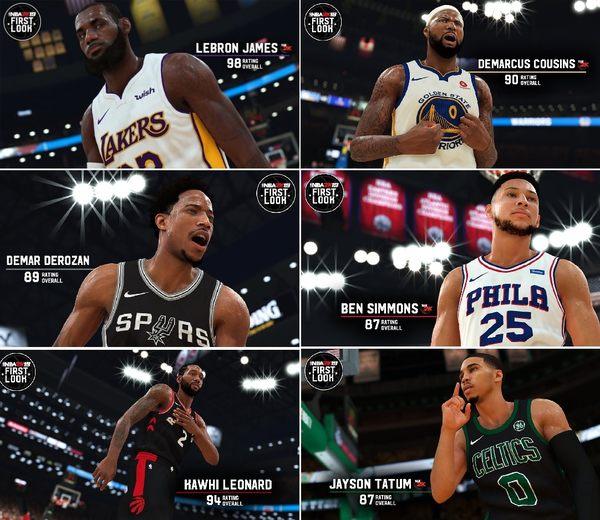 [哈GAME族]免運+刷卡●含首批數位內容●NS NBA 2K19 中英文合版 美國職業籃球 不可思議的抱團球季