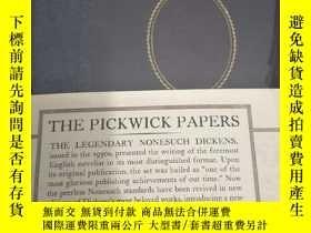 二手書博民逛書店【英文原版】The罕見Pickwick Papers 匹克威克傳