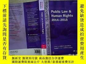 二手書博民逛書店PUBLIC罕見LAW & HUMAN RIGHTS.(14)Y
