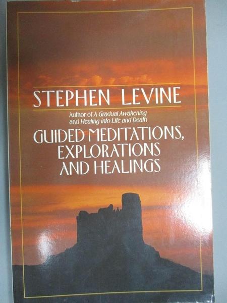 【書寶二手書T9/宗教_CJG】Guided Meditations, Explorations and Healings_Levine, Stephen