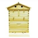 蜂箱全套自流蜜蜂箱中蜂自動流蜜蜂巢景區網紅房式蜂箱養蜂用品 小山好物