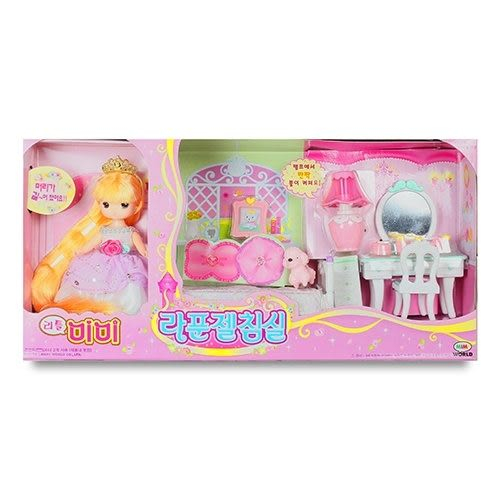 《 MIMI World 》迷你 MIMI 長髮公主臥室組╭★ JOYBUS玩具百貨