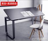 書桌 電腦桌簡易電腦台式桌子 書桌簡約家用學生學習桌辦公桌100*60cm不含椅子 igo  瑪麗蘇精品鞋包