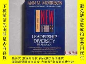 二手書博民逛書店英文原版罕見THE NEW LEADERS: LEADERSHI