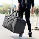 帆布包超大容量旅行袋防水折疊行李包出國托...