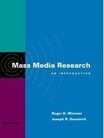 二手書博民逛書店《Mass media research : an introd