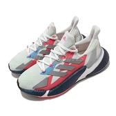 adidas 慢跑鞋 X9000L4 W 綠 藍 女鞋 科技風跑鞋 編織鞋面 Boost 舒適緩震 運動鞋【ACS】 FW8406