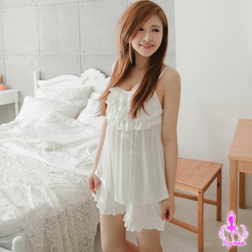 (特價) 純白舒適柔軟二件式睡衣  (OS小舖)
