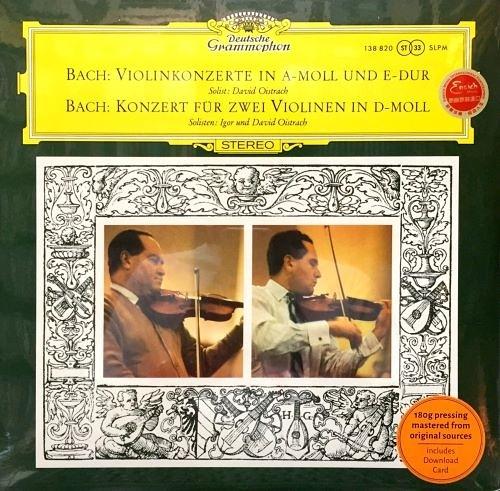 【停看聽音響唱片】【黑膠LP】BACH :VIOLINKONZERTE BWV 1041, BWV 1042 & BWV 1043/ROYAL PHILHARMONIC