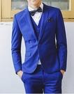 找到自己品牌 韓國男 四件式西裝外套 成套西裝 修身西裝 西裝外套 外套+背心+褲子+襯衫