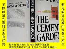 二手書博民逛書店The罕見Cement Garden (by Ian McEwa