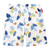 MIKI HOUSE 普奇熊熱帶風印圖涼爽短褲
