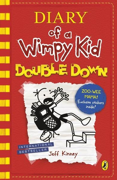 【麥克書店】DIARY OF A WIMPY KID#11:DOUBLE DOWN