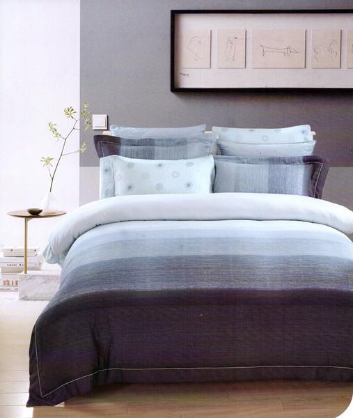 HO KANG 天絲棉 雙人 床包鋪棉兩用被套四件組 ~ 亞瑟士