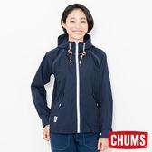 CHUMS 日本 女 海軍風兜帽外套 深藍 CH141077N001