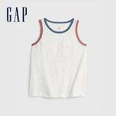 Gap男幼童 純棉輕薄針織背心 910616-白色