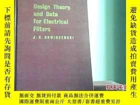 二手書博民逛書店Design罕見Theory and Data for Elec