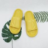 X-INGCHI 男女款黃色舒適室內外脫鞋-NO.X0204