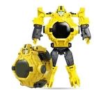 玩具手錶 變形金剛兒童手表電子玩具學生卡通投影變身機器人英雄男孩【快速出貨八折特惠】