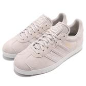 【五折特賣】adidas 休閒鞋 Gazelle W 灰 白 金標 麂皮 女鞋 運動鞋【PUMP306】 CQ2188