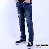 Big Train 鯉魚小直筒褲-男-迷-中藍-ZM700277