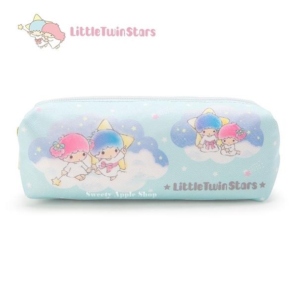 日本限定 三麗鷗 KIKI & LALA 雙子星 雲朵 星星 筆袋 / 收納袋 / 鉛筆盒