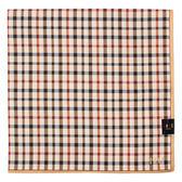 DAKS經典英倫格紋100%純棉帕領巾(駝色)989163-21
