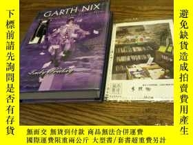 二手書博民逛書店英文原版罕見Garth Nix : keys to the ki