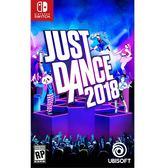 NS 任天堂 Just Dance 舞力全開 2018《英文版》遊戲片【單筆滿3片送電影票一張】