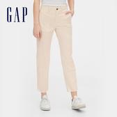 Gap女裝簡約純色基本款休閒褲542679-奶油色