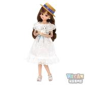 Licca莉卡娃娃 白色蕾絲洋裝莉卡 LD-07 (TAKARA TOMY) 61905