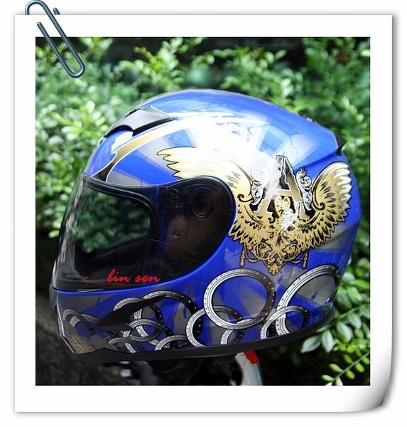 APEX安全帽,輕量化安全帽,SA-36,#2/藍銀~林森