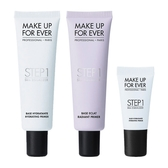 MAKE UP FOR EVER 第一步奇肌對策30ml*2+第一步奇肌對策清爽保濕15ml