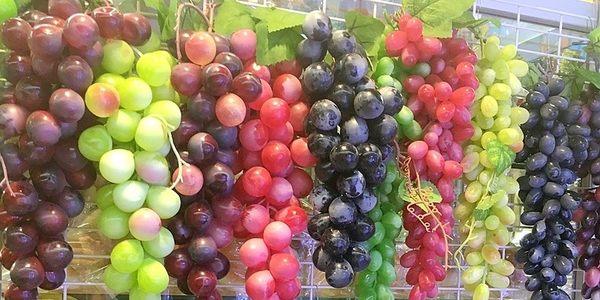[協貿國際]仿真水果蔬菜蔬果模型單串價(85顆葡萄1串)