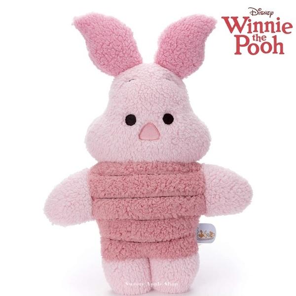 日本限定 迪士尼 TAKARA TOMY A.R.T.S 小熊維尼家族 粉紅小豬 もふらっと 玩偶娃娃 49.5cm