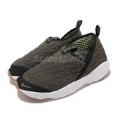 Nike 休閒鞋 ACG Moc 3.0 綠 黑 男鞋 戶外鞋款 穿脫方便 運動鞋【ACS】 CI9367-301