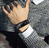 智慧手錶男運動多功能小米4腕帶3電話提醒華為蘋果電子手環女防水CY 自由角落