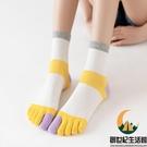 五指襪女棉襪防臭吸汗分腳趾襪子短筒【創世紀生活館】