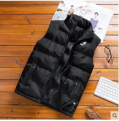 棉馬甲男秋冬季韓版潮保暖背心男士外套修身運動羽絨坎肩男裝馬甲