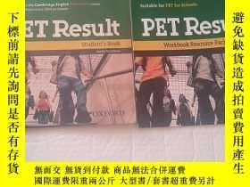 二手書博民逛書店PET罕見Result Student s Book + Workbook Resource Pack with