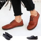 男款 歐美簡約舒適軟牛皮 涼拖兩穿式 MIT真皮手工 休閒皮鞋 59鞋廊